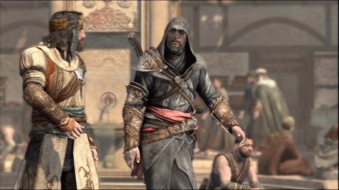 Sadly, a more boring Ezio.