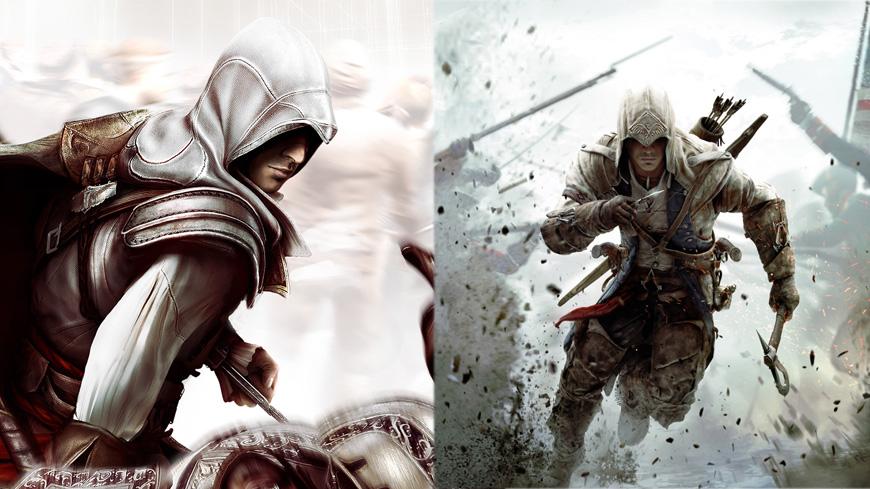 Connor and EzioConnor And Ezio