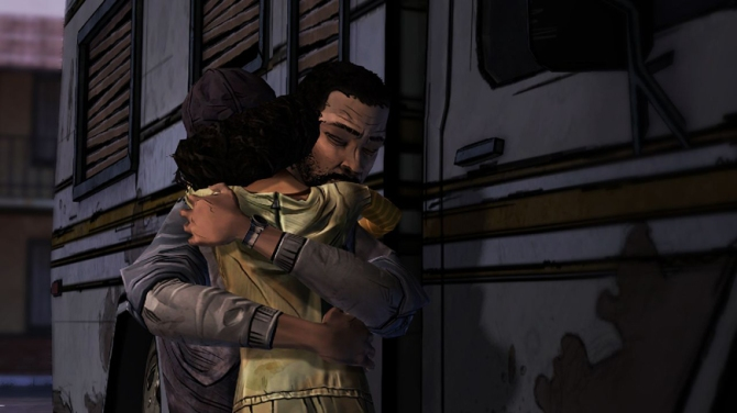 Lee's paternal role for Clementine is impeccable.