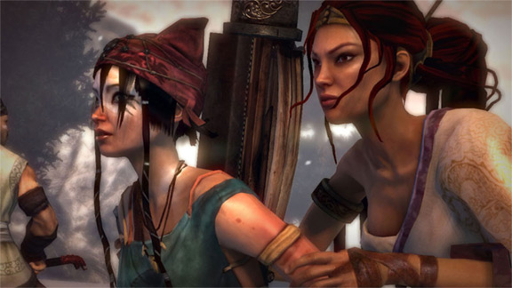 Heavenly Sword Review Console Hq