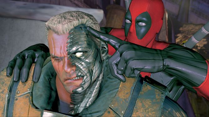 Hey Cable, buddy. Whatcha doin'?